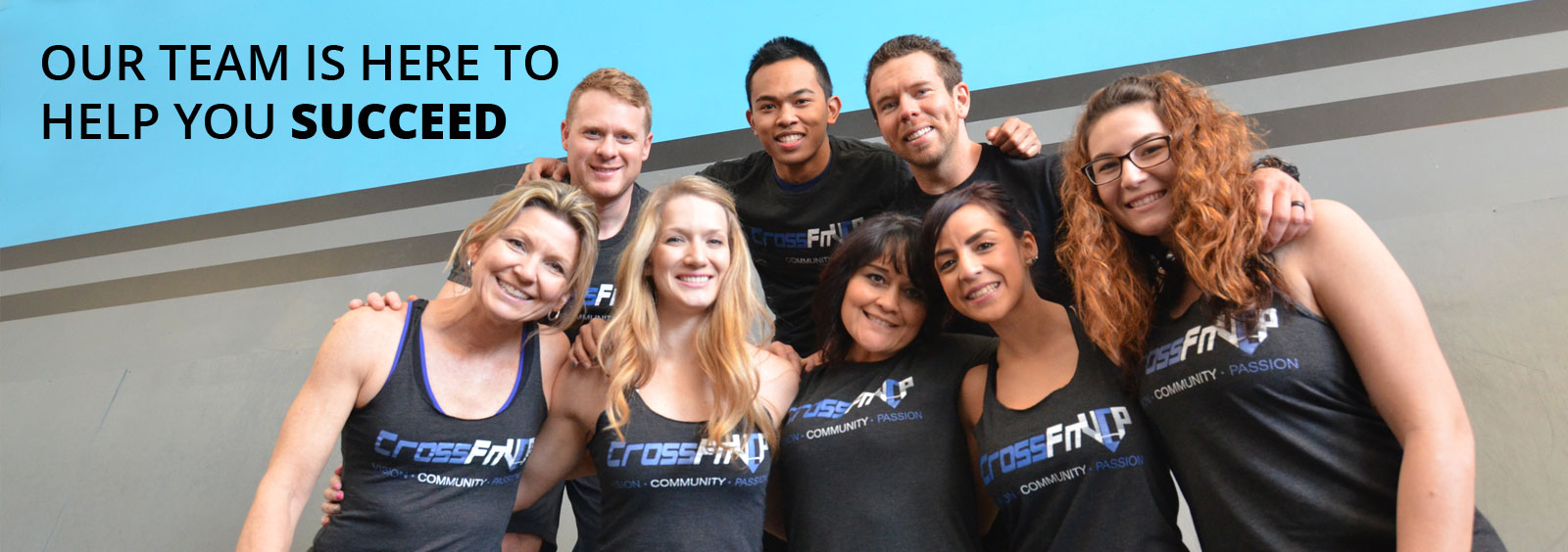 Team photo of coaches at Crossfit VCP in Chico, CA